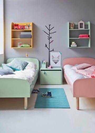 habitaciones infantiles compartidas sencillas