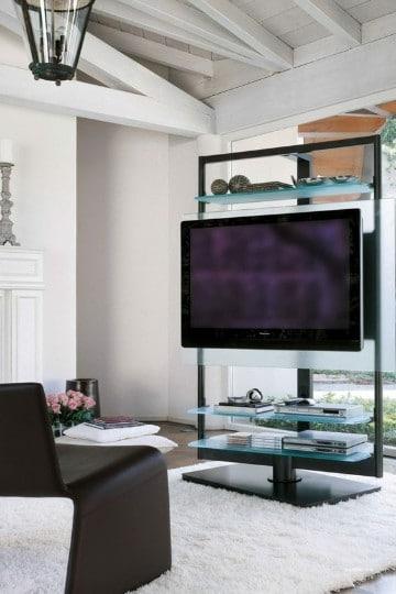 repisas flotantes para tv cristal