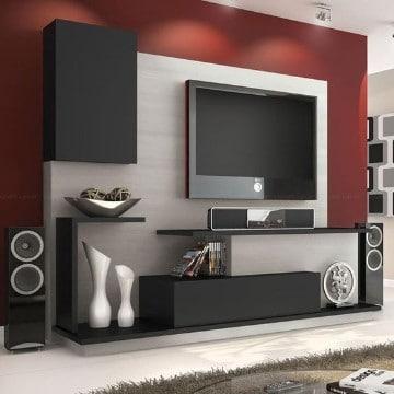 repisas flotantes para tv sala