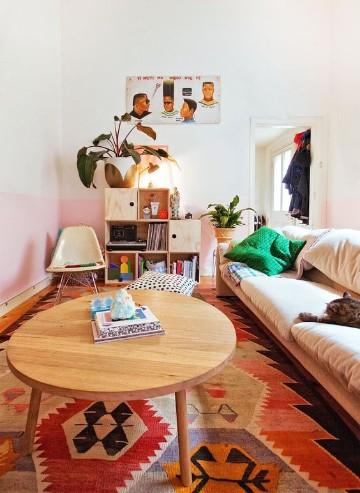 tapetes decorativos para sala inca
