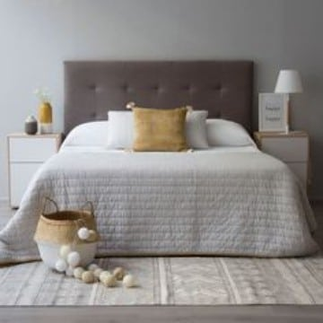 tipos de alfombras para dormitorios moderno