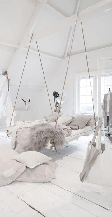 accesorios de decoracion para el hogar en blanco