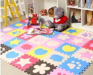 alfombras de juegos para niños de goma eva