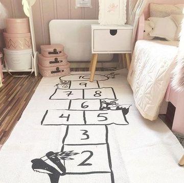alfombras de juegos para niños para dormitorio