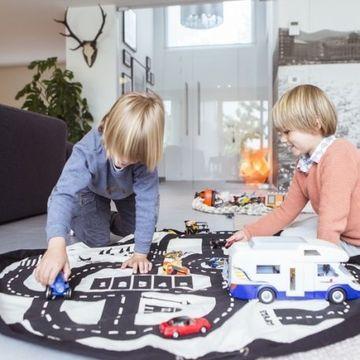 alfombras de juegos para niños varones