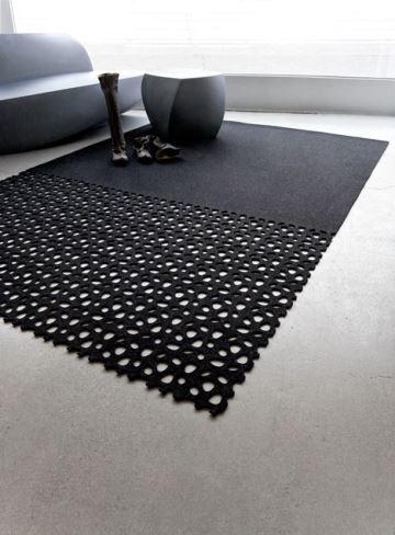 Elegantes y distinguidas alfombras de lana modernas como for Diferentes tipos de alfombras