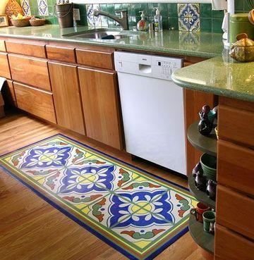 Algunas de las alfombras de vinilo para cocina - Alfombras de vinilo para cocina ...