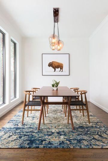 alfombras para comedor modernas elegantes