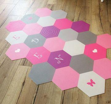 alfombras vinilicas infantiles con nombre