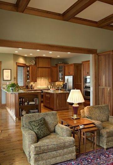 colores de muebles de madera en nogal