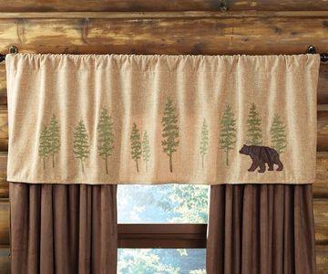 cortinas rusticas para cabañas