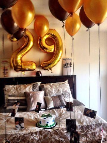 cuartos decorados de cumpleaños hombre