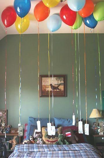 cuartos decorados de cumpleaños niño