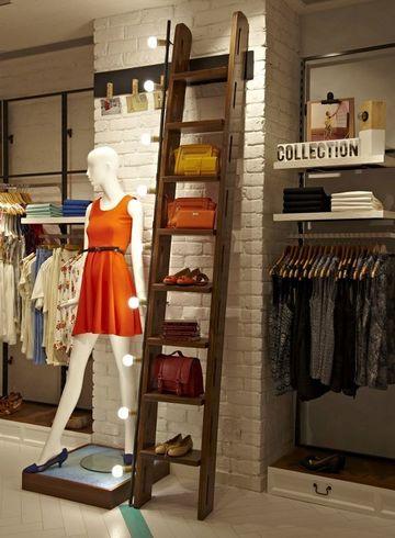 decoracion de tiendas de ropa de mujer pequeña