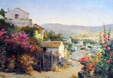 dibujos de paisajes pintados hermosos
