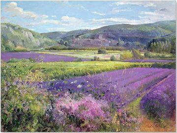 dibujos de paisajes pintados