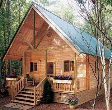 diseños de cabañas pequeñas de madera