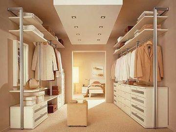 diseños de vestidores modernos minimalistas