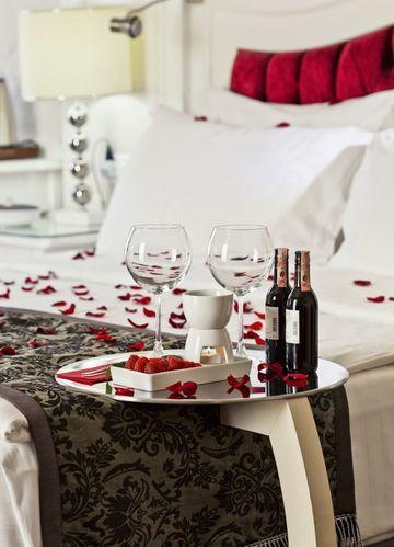 habitaciones decoradas de amor para noche de amor