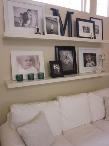 imagenes de repisas flotantes para sala