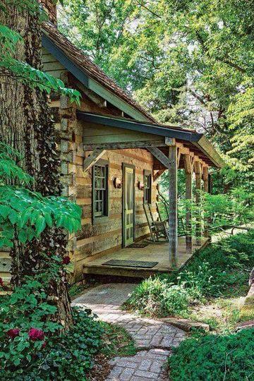 modelos de cabañas rusticas en el bosque