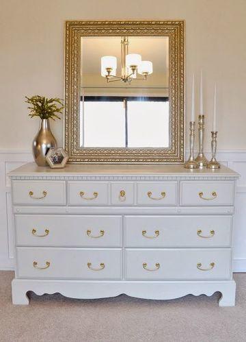 muebles blancos de madera para habitacion