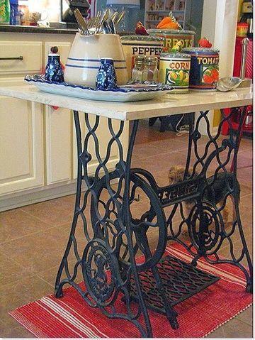 muebles vintage reciclados para cocina