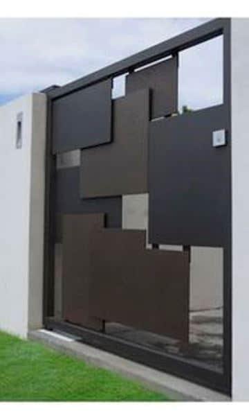 bardas para casas modernas de hierro