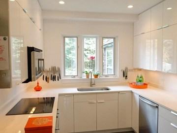 cocinas para apartamentos pequeños espaciosa