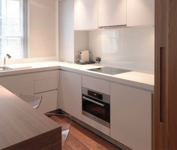 cocinas para apartamentos pequeños minimalista