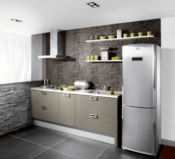 Dise os originales cocinas para apartamentos peque os Disenos de cocinas modernas para apartamentos pequenos