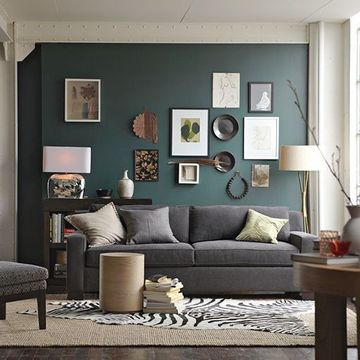 colores de moda para paredes de salones de casa