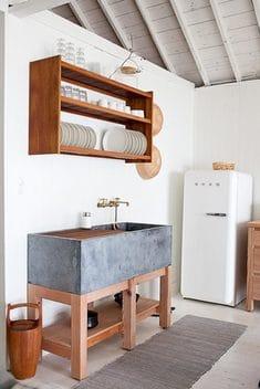 decoracion de interiores cocinas de concreto