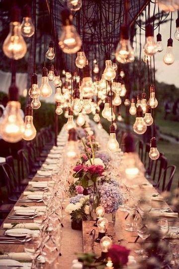 decoracion de local para matrimonio vintage