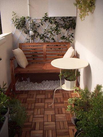 decoracion de patios interiores pequeños