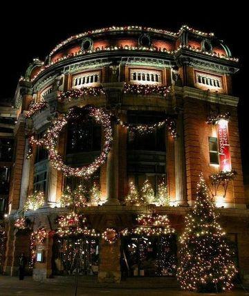Originales y creativas decoraciones con luces de navidad - Luces navidad exterior ...