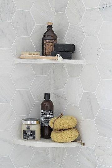 estantes para dentro ducha esquinera