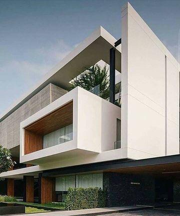 exteriores de casas modernas grandes