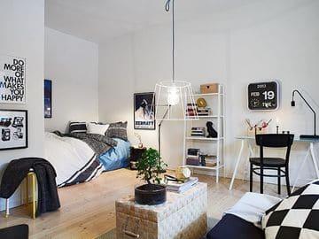 habitaciones juveniles blancas para varones