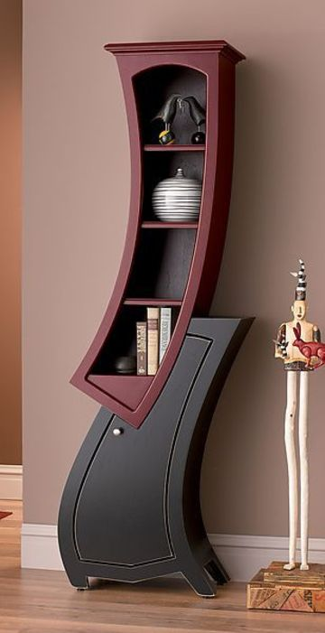 imagenes de estantes de madera moderno