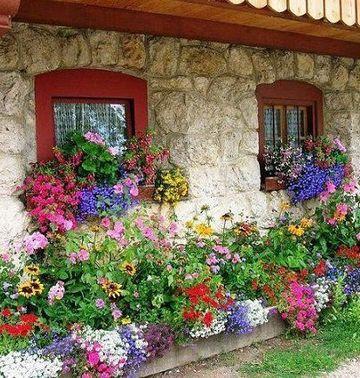 modelos de jardineras para casas exterior