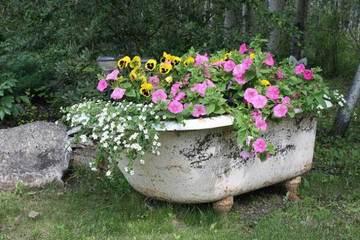 modelos de jardineras para casas recicladas