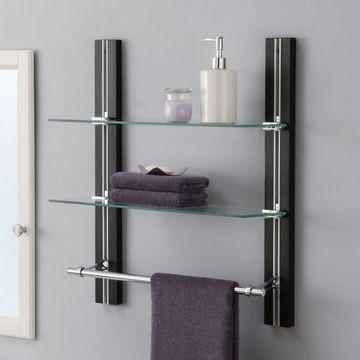 modelos de repisas para pared para el baño