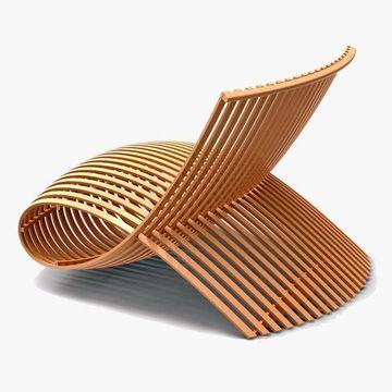 modelos de sillas de madera modernas compleja