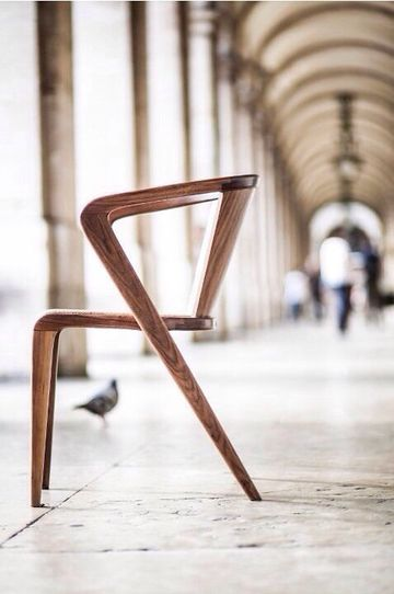 modelos de sillas de madera modernas sencilla