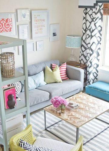 sillones para departamentos pequeños para economizar espacio