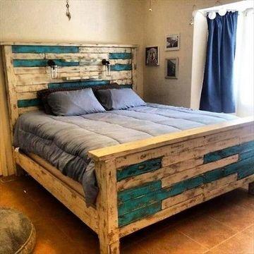 camas de palets reciclados geniales