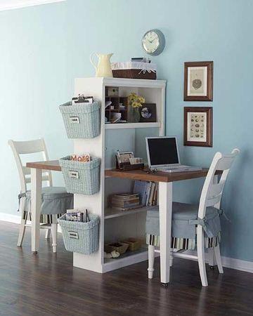 como acomodar una oficina pequeña para ahorrar espacio
