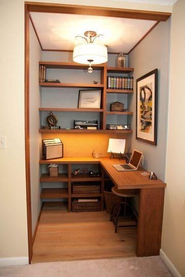 como decorar mi oficina de trabajo pequeñas