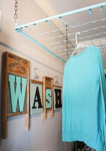 como hacer un perchero para ropa reciclaje